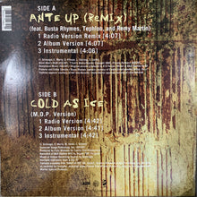 "Load image into Gallery viewer, M.O.P. ""Ante Up"" Remix Feat Busta Rhymes / ""Cold As Ice"""