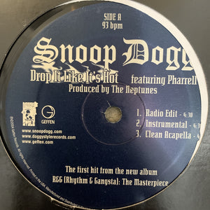 "Snoop Dogg ""Drop It Like it's Hot"""