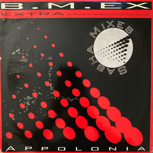 "B.M.EX ""Apollonia"" The Sasha Remixes,"