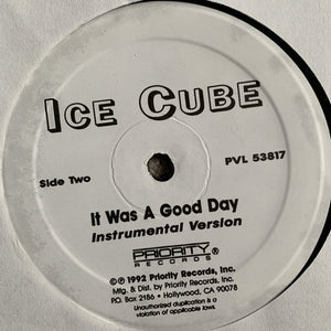 "Ice Cube ""It was a Good Day"""