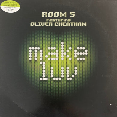 "Room 5 Feat Oliver Cheatham ""Make Luv"" 12inch Vinyl"