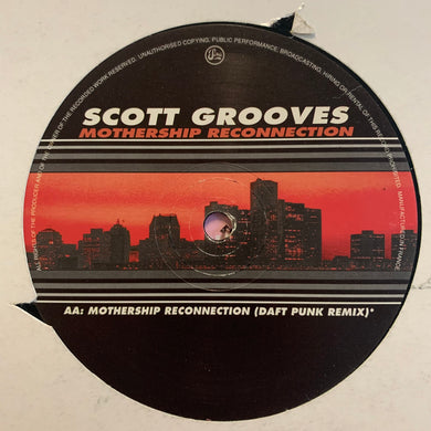 "Daft Punk, Scott Grooves ""Mothership Reconnection"" 2 version 12inch Vinyl"