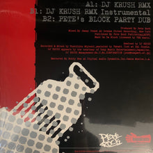 "Load image into Gallery viewer, Pete Rock ""Back On Da Block"" DJ Krush Remix 12inch Vinyl"
