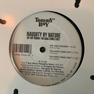 "Naughty By Nature ""Hip Hop Hooray"" 12inch Vinyl"