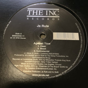 "Ja Rule ""Against Time""/ ""Ni**as & B**ches"""