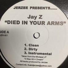 "Load image into Gallery viewer, Jay Z ""Died In Your Arms"" / ""Cold as Ice"""