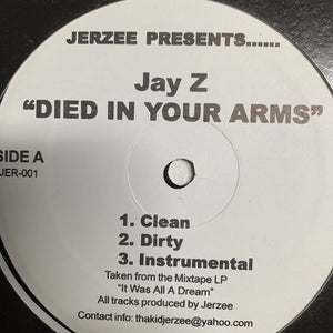 "Jay Z ""Died In Your Arms"" / ""Cold as Ice"""