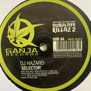 "DJ Hazard ""Use Your Brain"" / ""Selector"""