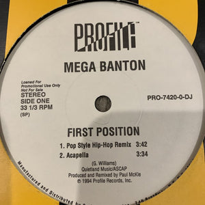 "Mega Banton ""First Position"""