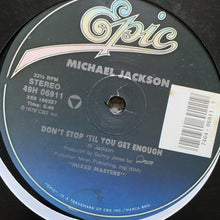"Load image into Gallery viewer, Michael Jackson ""Don't Stop Til you Get Enough"""