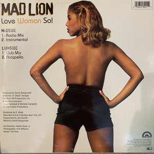 "Mad Lion ""Love Woman So"""