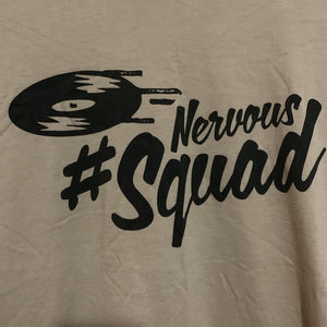 Nervous Records T-shirt