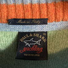 Load image into Gallery viewer, Paul & Shark 100% Extra Fine Merino Wool Sweater Size XL