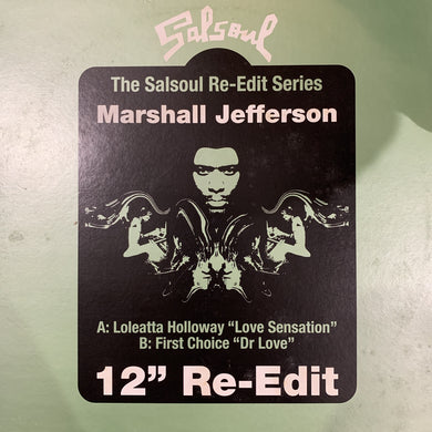 Marshall Jefferson 12inch Re Edit Series Limited Edition with Loleatta Holloway and First Choice