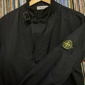 Stone Island Jet Black Jacket Size XL stunning bit of clobber will fit Large to XL