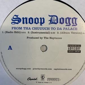 "Snoop Dogg ""From Tha Chuuuch To Da Palace"""