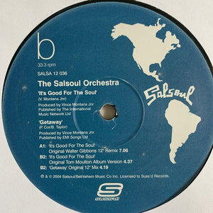 "The Salsoul Orchestra ""It's Good For The Soul"""