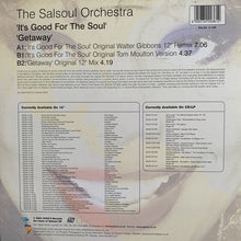 "Load image into Gallery viewer, The Salsoul Orchestra ""It's Good For The Soul"""