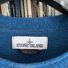 Load image into Gallery viewer, Stone Island Blue Knit Sweater