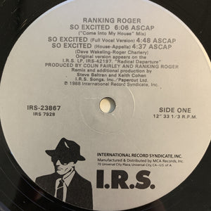 "Ranking Roger ""So Excited"""