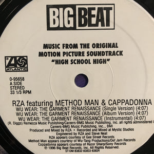 "RZA Feat Method Man & Cappadonna ""Wu-Wear"" / ""Get Down For Mine"""