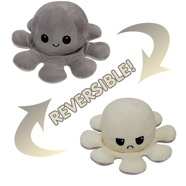 Reversible Octopus Plushies With LED Light