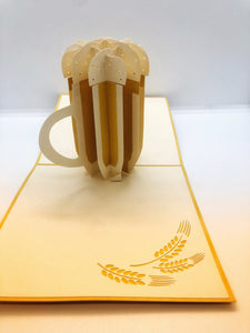 Pop-up Card _ Beer Cup