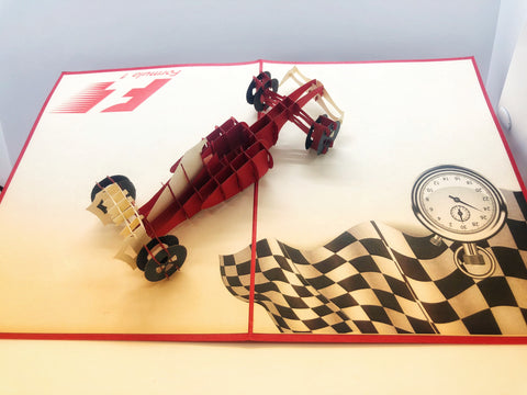 Pop-up Card _ Formula 1