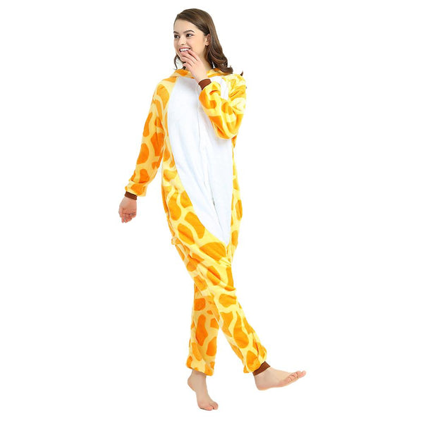 Onesie World Unisex Animal Pyjamas - Giraffe Adult (Cosplay / Nightwear Halloween Carnival Novelty