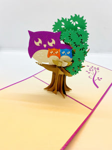 Pop-up Card _ Owl