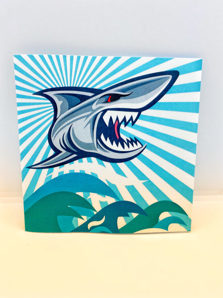 Pop-up Card _ Shark