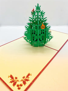 Pop-up Card _ Christmas Tree