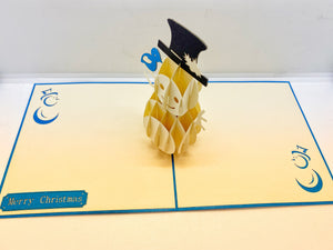 Pop-up Card _ Snowman
