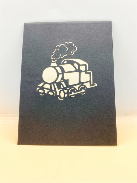 Pop-up Card _ Steam Train