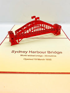 Pop-up Card _ Sydney Harbour Bridge