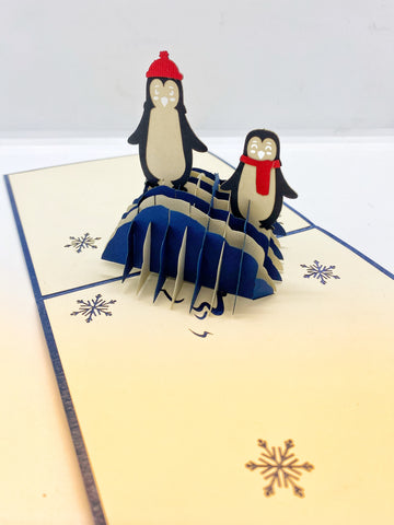 Pop-up Card _ Penguin