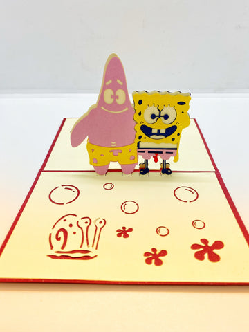 Pop-up Card _ SpongeBob SquarePants