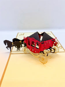 Pop-up Card _ Carriage