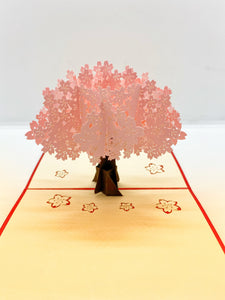 Pop-up Card _ Cherry Blossom