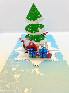 Pop-up Card _ Christmas Tree (1)
