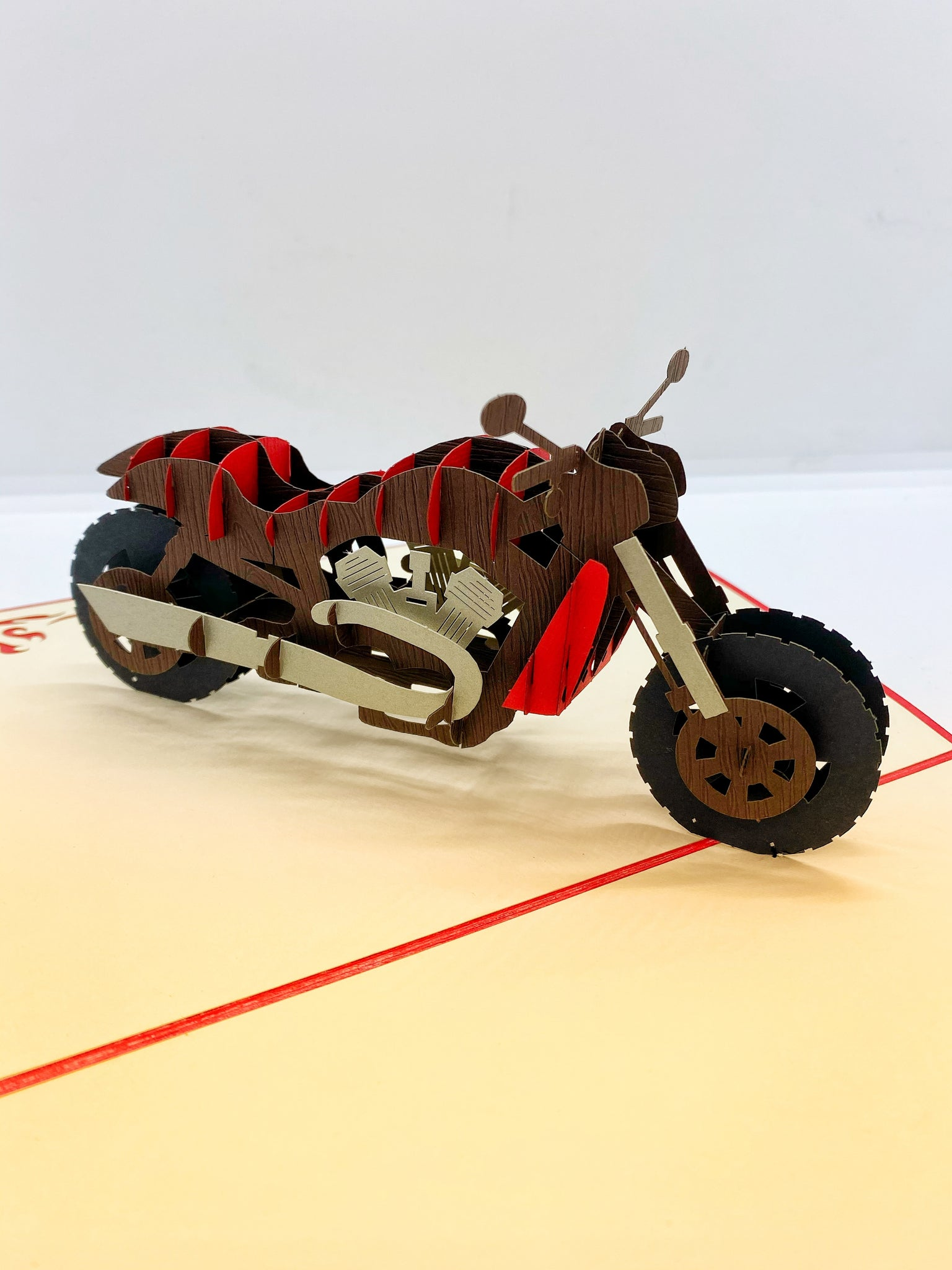Pop-up Card _ Motorcycle
