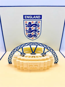 Pop-up Card _ England Wembley Stadium