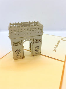 Pop-up Card _ Arc De Triomphe