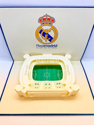 Pop-up Card _ Real Madrid Stadium