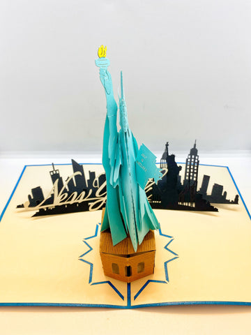 Pop-up Card _ Statue of Liberty NYC