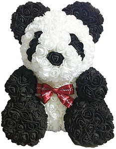 Gorgeous Rose Panda with LED Light and Gift Box - 40cm