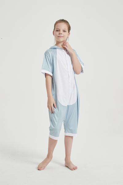 Onesie World Unisex Animal Summer Pyjamas - Bunny Kids Summer Onesie (Book-week / Nightwear / Halloween / Pyjama Days)