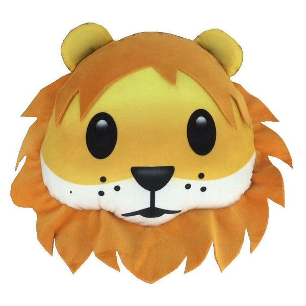 Emoji Lion Pillow Pillow