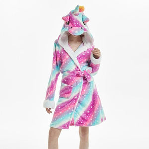 Onesie World Galaxy Starry Sky Unicorn Adult Bathrobe
