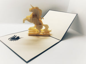 Pop-up Card _ Unicorn